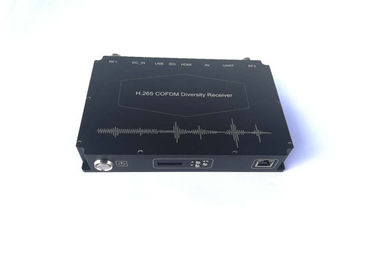 HD H.265 cofdm video Receiver industrial grade NLOS mobile transmisision